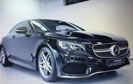Mercedes Benz S500 Coupe